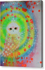 Wisdom Of  The Owl  Acrylic Print