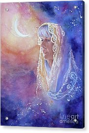 Wisdom Of The Waning Moon Acrylic Print