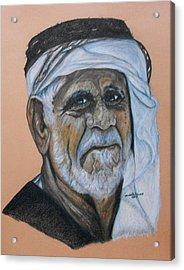 Wisdom Portrait Acrylic Print