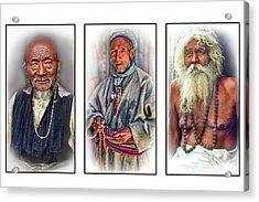 Wisdom - Such A Long Journey 3 Acrylic Print