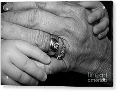 Wise Hands Acrylic Print