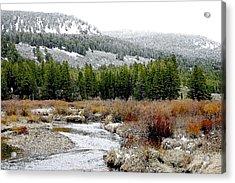 Wise River Montana Acrylic Print