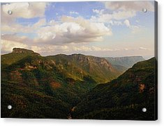Acrylic Print featuring the photograph Wiseman's View by Jessica Brawley