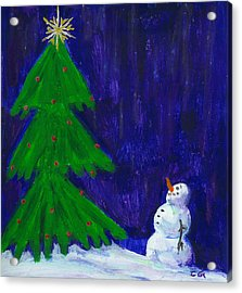 Wish Upon A Star Acrylic Print by BlondeRoots Productions