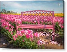 Wish You Were Here 0756 Acrylic Print