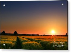Acrylic Print featuring the photograph Wish You Were Here by Franziskus Pfleghart