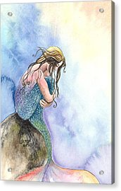 Wishful Thinking Acrylic Print by Kim Sutherland Whitton