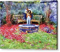 Wishing Pond Acrylic Print by Jai Johnson