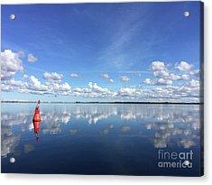 Wismar Bay In Fall Acrylic Print