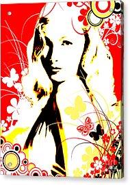 Wistful Flutter Acrylic Print
