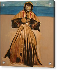 Witch By The Sea Acrylic Print by Biagio Civale