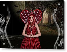 Witch Queen Of New Orleans Acrylic Print