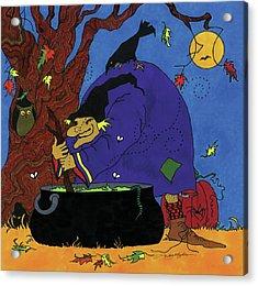 Witch's Brew Acrylic Print