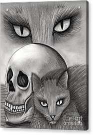 Witch's Cat Eyes Acrylic Print