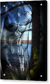 With The Back To The Sea  Acrylic Print by Mark Ashkenazi