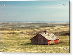 Withering Barn Acrylic Print by Todd Klassy