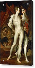 Without Ceres And Bacchus, Venus Grows Acrylic Print
