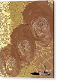 Witness Acrylic Print by Pederbeck Arte Gruppe