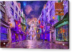 Wizard Mall Acrylic Print by Caito Junqueira