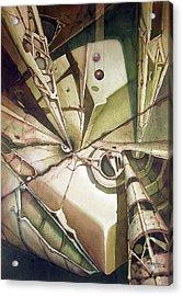 Wl1980dc003 El Planeta Petrificado 26 X 37.6 Acrylic Print