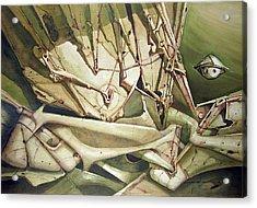 Wl1980dc004 Viaje Al Planeta De La Paz 26 X 37.9 Acrylic Print