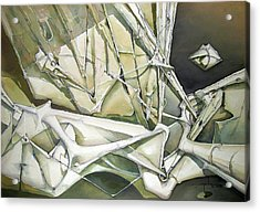 Wl1989dc003 Wonderful Light Of Peace 26 X 37.6 Acrylic Print