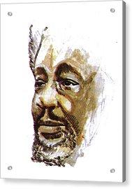 Wole Soyinka Acrylic Print