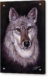Wolf Buddy Acrylic Print