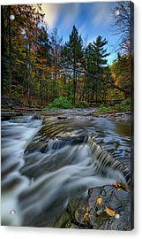 Wolf Creek Autumn Acrylic Print by Rick Berk