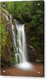 Wolf Creek Falls Acrylic Print by Derek Thornton