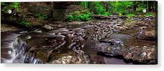 Wolf Creek Panorama Acrylic Print by Mark Papke