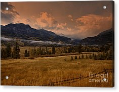 Wolf Creek Pass Acrylic Print by Timothy Johnson