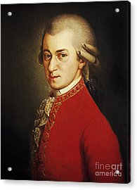 Wolfgang Amadeus Mozart, Austrian Acrylic Print by Photo Researchers