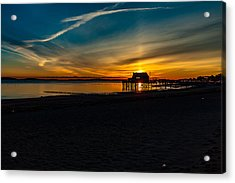 Wollaston Beach Sunrise 3 Acrylic Print