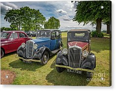 Acrylic Print featuring the photograph Wolseley Motors by Adrian Evans