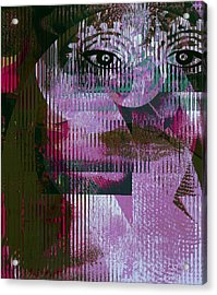 Woman - Art And Theory Acrylic Print by Fania Simon