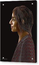 Woman 20 Acrylic Print