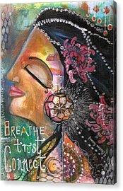Woman Art Acrylic Print