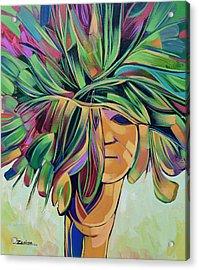 Woman Series Acrylic Print