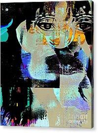 Womanhood Not For Sale Acrylic Print by Fania Simon