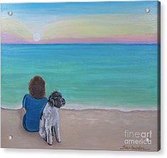 Woman's Best Friend Acrylic Print