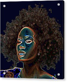 Womans Essence IIi  Acrylic Print