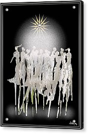 Women Chanting - Spirit Dance Acrylic Print