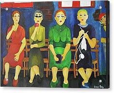 Women Of Budapest Acrylic Print