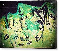 Women Acrylic Print by Paulo Zerbato