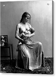 Acrylic Print featuring the painting Women The Nourishment Of The World by Pg Reproductions