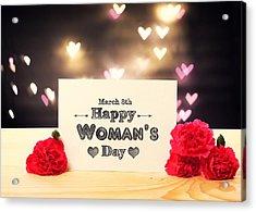 Women's Day Acrylic Print