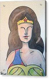 Wonder Acrylic Print by Loretta Nash