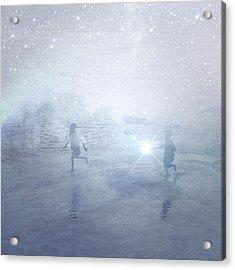 Wonder On A Starry Night Acrylic Print