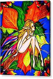 Wonder Acrylic Print by Penny  Elliott